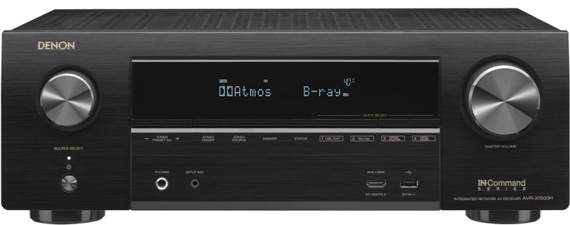 Denon AVR X1500H: A Detailed Review