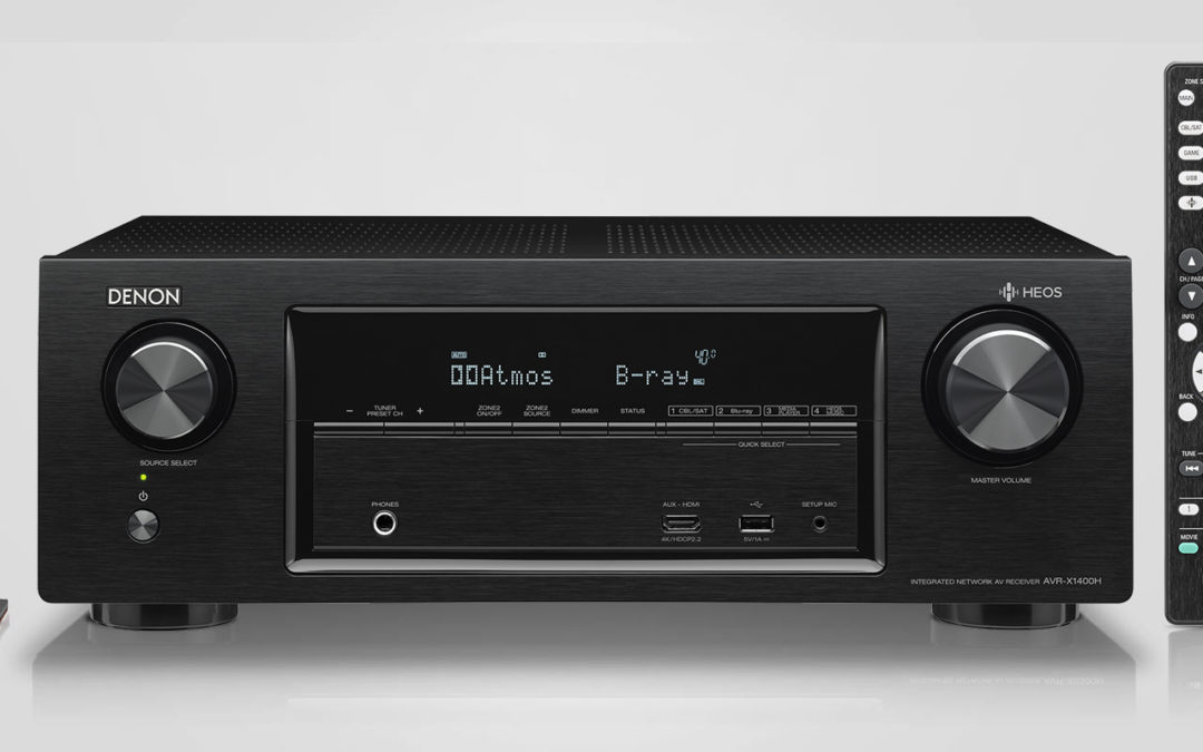 Denon AVR X1400H Review